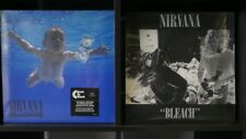 LOTE NIRVANA BLEACH + NEVERMIND VINILOS VINYL LOT GRUNGE