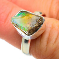 Ethiopian Opal 925 Sterling Silver Ring Size 7 Ana Co Jewelry R41036F