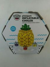 """New listing Bigmouth Pineapple Inflatable Cooler Great for Pool Parties 30""""L x 30""""W x 16""""H"""