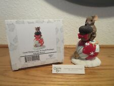 Charming Tails Good Things Come In Small Packages Special Edition Figurine