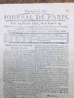 Fuite de Varennes Louis 16 1791 Sainte Menehould Pondichery Brie Robespierre