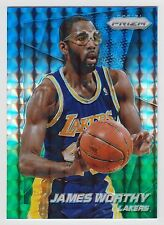 JAMES WORTHY 2014-15 Panini Prizm Blue and Green Mosaic Card #172 Lakers