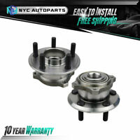 2PC Rear Wheel Hub Bearing w/32 Splines for 2009-14 Dodge Charger Challenger 300