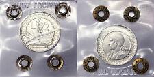5 Lire 1937 San Marino Spl/Q.Fdc #P514