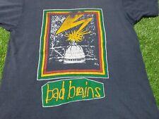 Rare Vintage Bad Brains Shirt  Quickness Rastafari Sst Records Hardcore Punk M