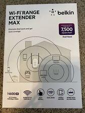 Belkin N600 Dual-Band Wi-Fi Range Extender MAX F9K1122 7,500 SQ Feet NEW