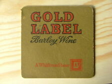 Beermat Coaster Whitbread Gold Label Barley Wine BM412