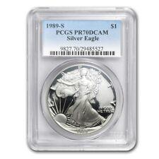1989-S Proof Silver American Eagle PR-70 PCGS (Registry Set) - SKU #32799