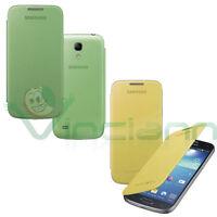 Custodia Flip Cover originale Samsung per Galaxy S4 mini i9195 case Bulk nuova