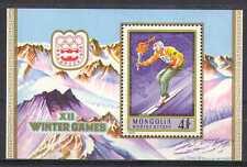 Mongolia Juegos Olímpicos 1975/Deportes/Esquí 1v m/s (n23707)