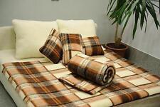 Woollen BLANKET EU MERINO NATURAL WOOL 100% ALL SIZES!!! KRATKA
