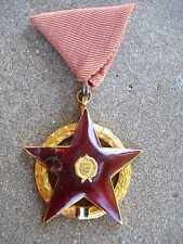 Hungary Hungarian Order of the Red Star 1953 RARE! 1957 Medal Communist Soviet