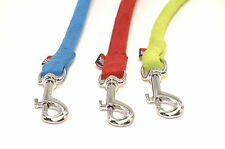 Dogline Round Soft Padded Comfortable Microfiber Durable Gentle Dog Leash