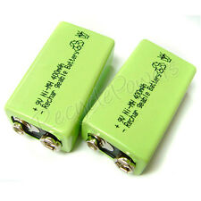 4 x 9V 9 Volt 400mAh Ni-Mh rechargeable battery PP3 G