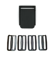 """Weight Belt Buckle + 4 Slides (Quick Released Plastic 2"""" 2in SCUBA Free Diving)"""
