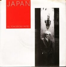 "JAPAN all tomorrows parties 7"" PS EX/VG uk HANSA 18 sol"
