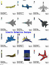 AIRPLANES/PLANES V.1(4x4) LD MACHINE EMBROIDERY DESIGNS