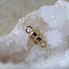 585 gold, 14 karat gold magnet verschluss, 9,7x4,4mm