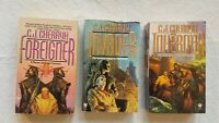 Foreigner Trilogy Arc 1 by C.J. Cherryh (1st Edition/First Printings)
