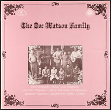 THE DOC WATSON FAMILY - 1977 France LP Le Chant du Monde