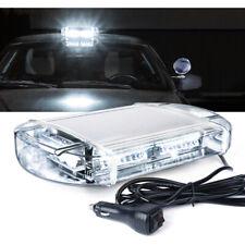 Xprite 40 LED Vehicle Rooftop Hazard Warning Flash Strobe Light Bar White