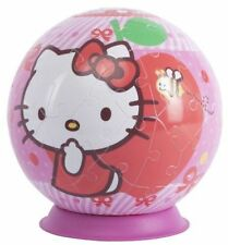 Ravensburger Hello Kitty 3d Plastic Puzzle Ball Kids Jigsaw