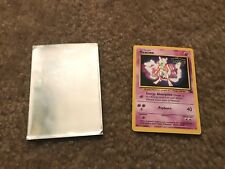 1999 Promo Pokemon The First Movie Card Mewtwo #3 Kids WB Stamp
