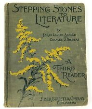 Vintage Antique Book 1902 Stepping Stones to Literature: A Third Reader