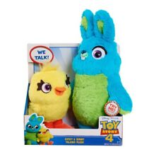Disney Pixar Toy Story 4 Bunny & Ducky Talking Plush Works Great EUC A6
