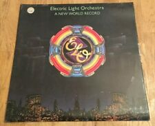 Electric Light Orchestra, A New World Record, Vinyl 33 LP 1976, Embossed cover