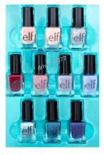 New e.l.f. Nail Color Polish 10 Piece Variety Nail Set (10 Bottles) Shimmer , Ma