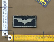 "Ricamata / Embroidered Patch ""Batman"" Black with VELCRO® brand hook"