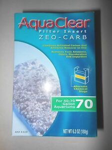 AquaClear 70 (300) Filter Zeo-Carb Zeo Carb A-619 A619