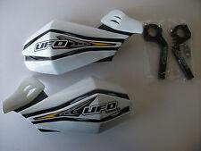 Ufo Enduro Motocross Hand Guard White Dt Kmx Wr Yzf Xr Crf Dr Drz Ktm Handguards