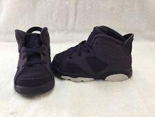 Nike Air Jordan 6 Retro Purple Dynasty Toddler Girls Shoes~size 7 C