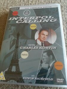 Interpol Calling - The Complete Series - 5 disc DVD Set. New