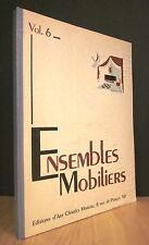 ENSEMBLES MOBILIERS. VOL 6. 1945.