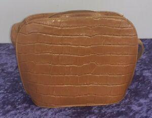 Marks & Spencer Vintage St. Michael Brown Leather Crossbody Bag