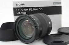 Sigma C 17-70mm F/2.8-4 DC MACRO OS HSM for SA Mount [Excellent] 06-Z110