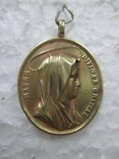 Ancienne médaille religieuse Ste Marie / Jésus Christ