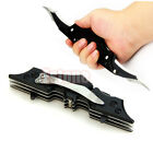 Outdoor Batman Two Dual Double Pocket Bladed Folding Knife Tool The Dark Knight