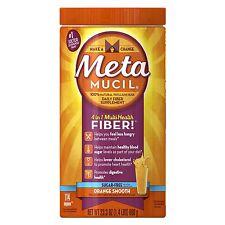 Metamucil Psyllium Fiber Supplement Smooth Sugar Free Powder 114 doses 23.3 Ounc