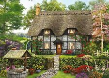 Falcon Deluxe The Florist 's Cottage Jigsaw Puzzle (500 Pieces)