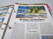 Model Railway Step by Step 2 carcass geländebau Rods Connectors Terra form