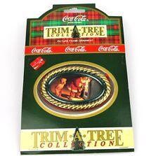 COCA-COLA EE.UU. Decoración de árbol navidad adornos - SANTA 1959 Ornamento
