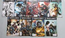 MORTAL KOMBAT X 1-9 DC Comics Scorpion Subzero Raiden Kano Kitana Ermac HOT