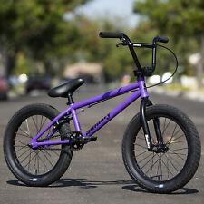 "2020 SUNDAY BIKE BMX PRIMER 18"" BICYCLE MATTE GRAPE SODA PURPLE/BLACK"