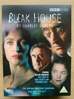 Bleak House DVD 3-Disc Box Set 2006 BBC Charles Dickens Classic TV Drama Series