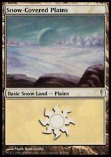 MTG 1x Snow-Covered Plains-Coldsnap * allemand FOIL SL *
