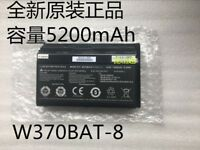 1PCS W370BAT-8 Battery For CLEVO W350ET W350ETQ 5200mAh